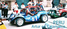 Artur Coral en una carrera de autos en  Cajamarca, Perú. (Foto: Archivo de Ipitimes.com ).