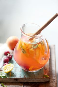 When life gives you lemons, and peaches, and cherries, ​it's best to​ make a Peach & Cherry Lemonade. In my favourite jug from @urbandazzle  #thattimeoftheyear #lemonade #foodstyling #inseason #summerishere #foodphotography #delicious #light #raw #PAB #instamood #rustic #cleaneating #simpleliving #foodbloggerindia #sodelhi #freshproduce #simplelife​ #India #fooddiaries #freshingredients #foodandrustic #thingsilove #moodfood  #wearegurgaon #glass #stilllife ​#peaches #cherries #minimalistics