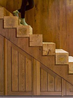 Nice wood stair