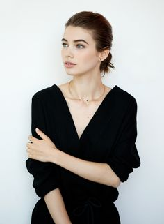 Black Stones Necklace | AUrate New York