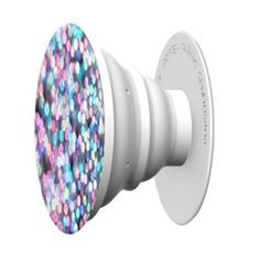 The Pop Socket The PopSocket is a nifty compact gadget that can change the way you use almost any mobile device – phone, camera, tablet, e-reader, gaming console. The colorful round grip-mount adheres