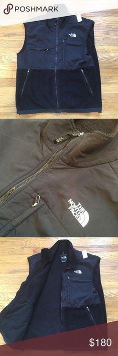 Mens Vintage North Face Vest - Black - Large Mens Vintage North Face Vest - Black - Large - Used With Little Wear North Face Jackets & Coats Vests
