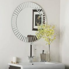 1STOPlighting.com | Modern - Frameless Wall Mirror
