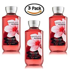 Japanese Cherry Blossom Shower Gel Body Wash – Set of THREE (3) bottles (10 oz ea) — Bath & Body Works Signature Collection Review