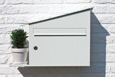 A White Mailbox That's Green