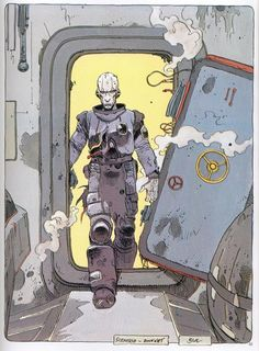 "From ""Exterminateur 17"" by Enki Bilal"