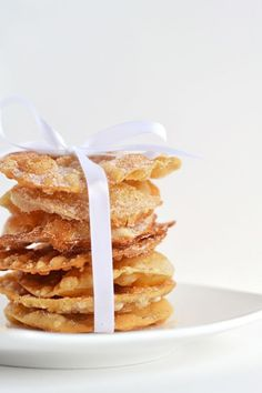 Save this recipe to create Buñuelos, a mix between a donut + a cookie, for Christmas.