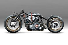 HOLOGRAPHIC HAMMER & ROLAND SANDS DESIGN # Indian Chief motorcycle