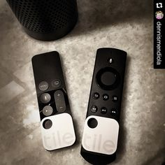 Never lose my Apple TV or Amazon Echo remotes again! #tiledit  #Repost @dennismendiola  From here on you two will never be out of sight #thetileapp #tiledit  www.thetileapp.com