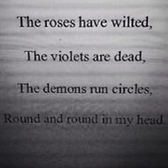 Decay. Demonic.                                                                                                                                                                                 More