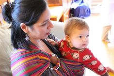 """I love the rebozo—the beautiful colors, the artistry—but mostly for the way it works… """"Rebozo"""" means """"shawl"""" in Spanish. It's a traditional Mexican shawl about 4-5 feet in length. It is a multifunctional tool used before labor, used to help laboring women birth and used for carrying your baby around after birth! The other day, … … Continue reading →"""