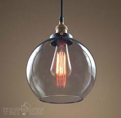 Schön Glas Globe Adjustabl Leichte Moderne Küche Anhänger Beleuchtung UL Gelistet  Kupferbasis Hängende Decke Pendelleuchte GLOBE