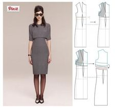 Dress, pattern instructions
