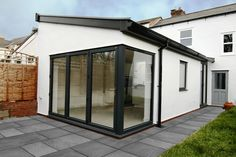 Image result for patio doors on corner