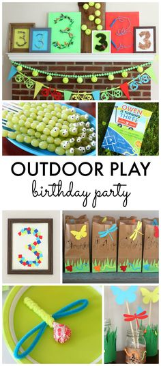 Outdoor Play Birthda