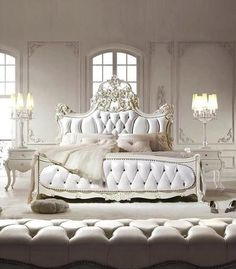 bed looks so inviting