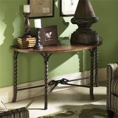 Medley Demilune Sofa Table | Shopping in Riverside Furniture Occasionals