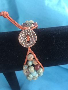 A personal favorite from my Etsy shop https://www.etsy.com/listing/227300078/beaded-fitbit-bracelet