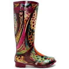 Picasso knee boots