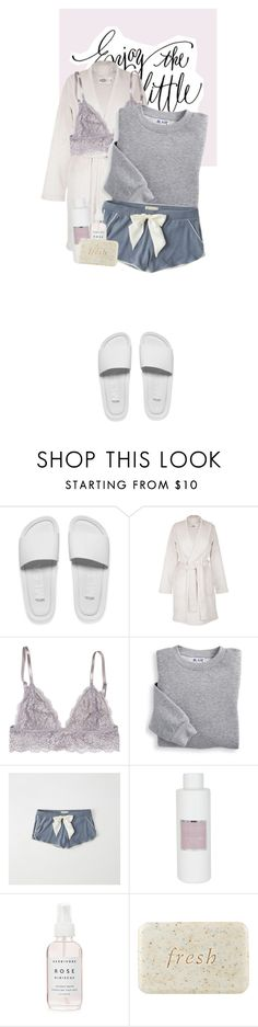 """""""Good Night"""" by m-olla ❤ liked on Polyvore featuring Melissa, UGG, Blair, Abercrombie & Fitch, Max Benjamin and Fresh"""
