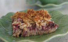 Healthy Raspberry And Chia Seed Slice Recipe - Healthy