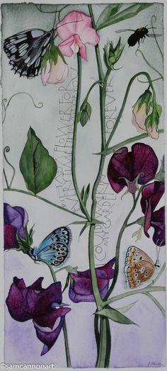 Sam Cannon Art; Verse Attributed to Claudia Adrienne Grandi