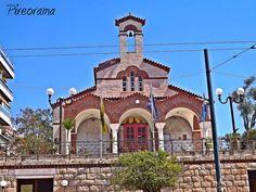 Pireorama ιστορίας και πολιτισμού: Ο ιταλός κατάσκοπος που έκτισε εκκλησία στην Καστέ... Greece, Mansions, House Styles, Home Decor, Mansion Houses, Decoration Home, Manor Houses, Villas, Fancy Houses