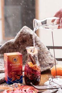 Hüttenlikör | Winterideen mit Kandis von Diamant Zucker