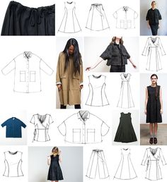 Preorder The School of Making's 2017 wardrobe-building subscription with over 47 hand-sewn garment variations.