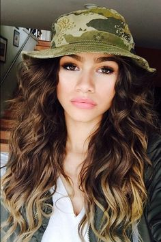 What do you think of Zendaya rocking Trevor's hat? Description from twistmagazine.com. I searched for this on bing.com/images
