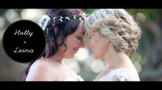 """It was a warm and sunny September day at the Fingal Head Nature Reserve when two beautiful brides: """" Holly and Leina"""" made their promises and and said their """"I do's"""" to one another in front of their friends and family. Every wedding we film is special to us of course but Holly and Leina's had an added element of excitement and importance to us as it enabled us to express our support for marriage equality. We wish you all the happiness in the world throughout your long lives together xx"""