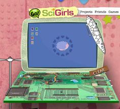 SciGirls. Projects and more, for girls into science. Love. Love. Lovelovelovelove!