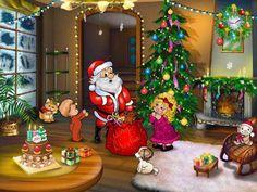 free desktop wallpaper screensavers christmas magic
