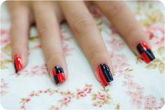 .Harley Quinn Nails