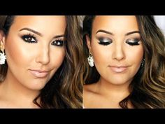 Amanda Ensing creates a charcoal grey look using LORAC's #PROPalette2 perfect for Fall! #AmandaEnsing