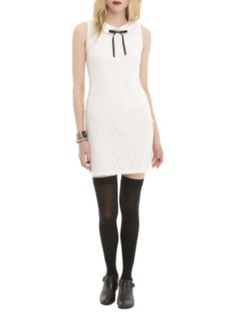 Ivory Lace Baby Doll Dress. Really really really WANT!