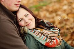 Fall fun with a gorgeous couple! #engagementphotography #couplesphotography #fallphotosession