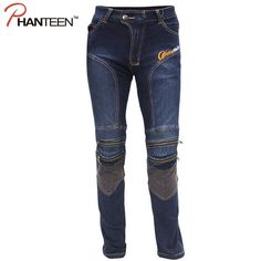 (51.90$)  Buy here - http://ai41r.worlditems.win/all/product.php?id=32428631002 - Man Motocross Pro Riding Elastic Pants Protector Motorcycle Jeans Pantalon Moto Comfortable Biker Men Trousers