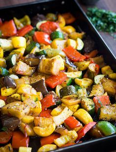Rustic Ratatouille-Ratatouille is a classic dish and beloved side because of its bright colors, bold flavors and healthy cast of vegetables. Sprinkle some extra olive oil, salt, pepper and Parmesan cheese for added Italian flair.