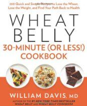 Wheat Belly 30-Minute (Or Less Cookbook 200 Quick and Simple Recipes