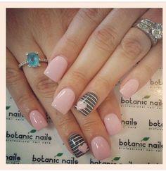 Image via Cute And Creative Swirl Nail Art Image via botanic nails design 2015 Image via botanic nails Image via Image via Simple Botanic Nail Art Designs for Short N Shellac Nails, Nail Manicure, Pedicure, Acrylic Nails, Stiletto Nails, Coffin Nails, Love Nails, Pink Nails, Pretty Nails