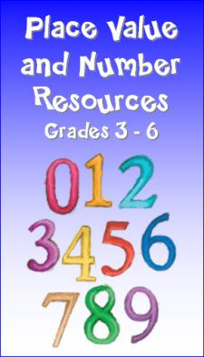 Place Value and Whole Number Resources in Laura Candler's File Cabinet