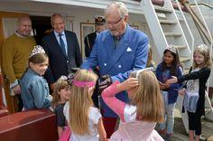 Prinsesser ombord på Fregatten 080716 0062