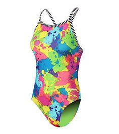 3e8b061bd1 Dolfin Uglies Inky V-2 Back One Piece Swimsuit at SwimOutlet.com