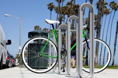 Olympia Bike Rack by Forms+Surfaces. via bike commuters