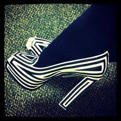 @Viktor_and_Rolf today! #heels #shoes  www.shoedaydreams.com
