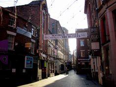 Mathews Street - Liverpool, England
