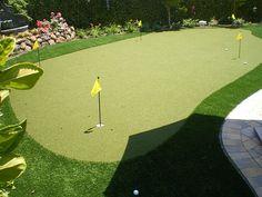 Project: Artificial Lawn & Backyard Putting Green in Blackhawk, CA