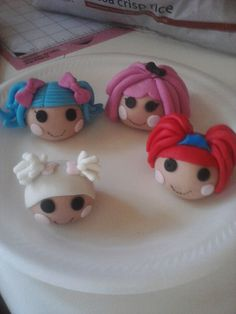 Lalaloopsy cake toppers!