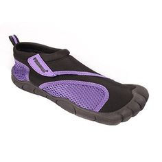 Fresko Womens Women's Water Shoes Purple 7 M US *** Check out this great product. (This is an affiliate link) Trekking Shoes, Water Shoes, Hiking, Slippers, Sandals, Purple, Sneakers, Image Link, Skin Care
